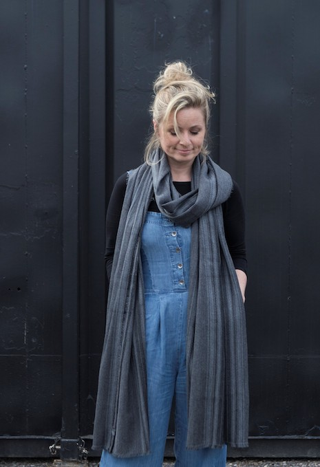 Clare Campbell is the founder of Prickly Thistle and the Black House Mill and a staunch proponent of keeping tartan-making alive in Scotland