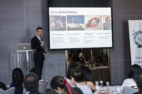 Kai Liu, chief strategy officer of the Aug. 21 China ecommerce opportunity co-sponsor Buy Quickly, said the Chinese customer was used to sophisticated levels of service. Image credit: DLG and Luxury Society