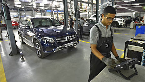 Mercedes-Benz is one of the most popular luxury car brands in India. Image credit: Mercedes-Benz India